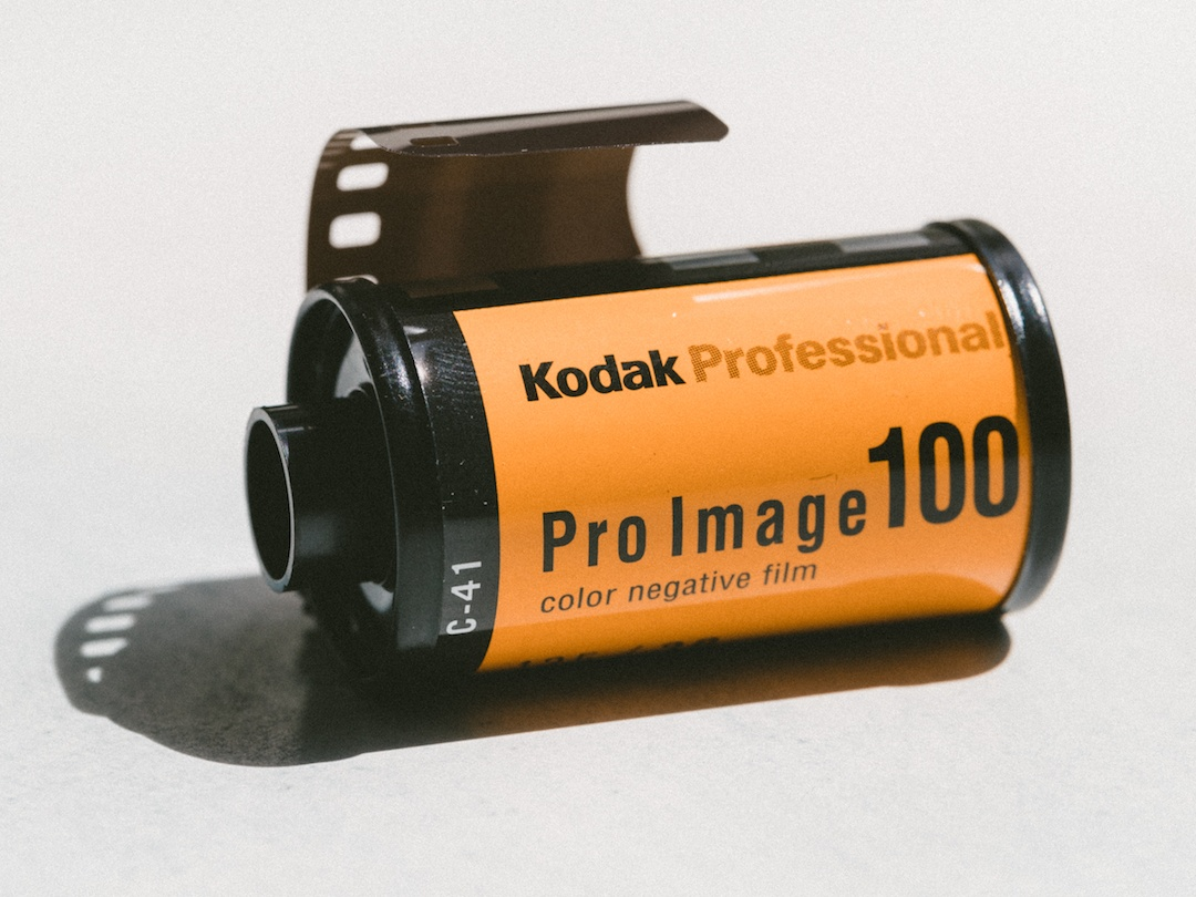 A roll of Kodak film.